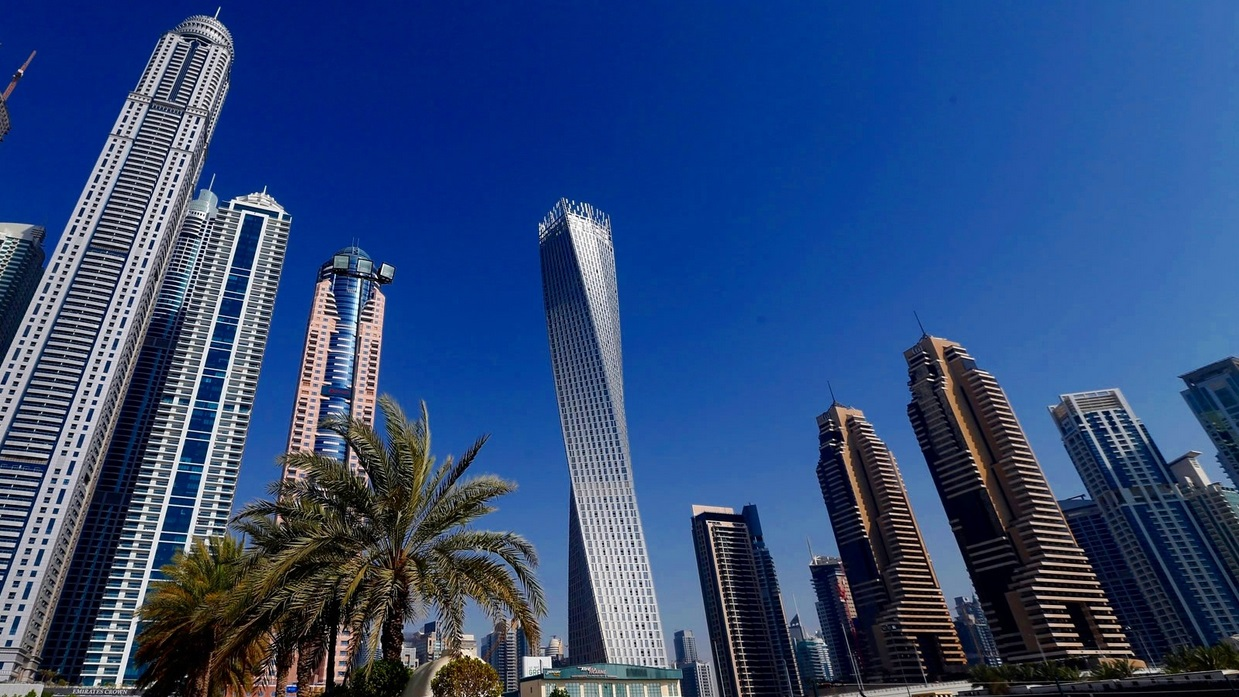 самая высокая витая башня в мире