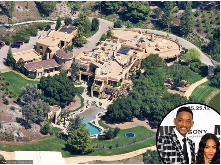 Will Smith and Jada Pinkett-Smith- Calabasas Compound