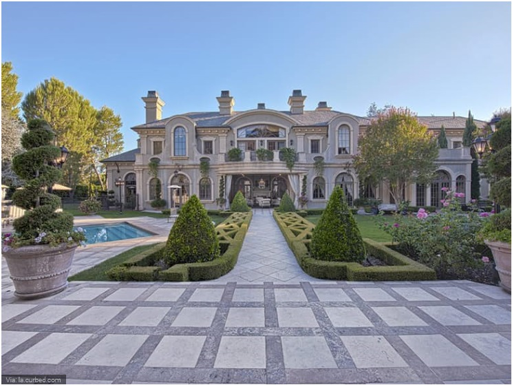 Sylvester Stallone- Beverly Hill Mansion