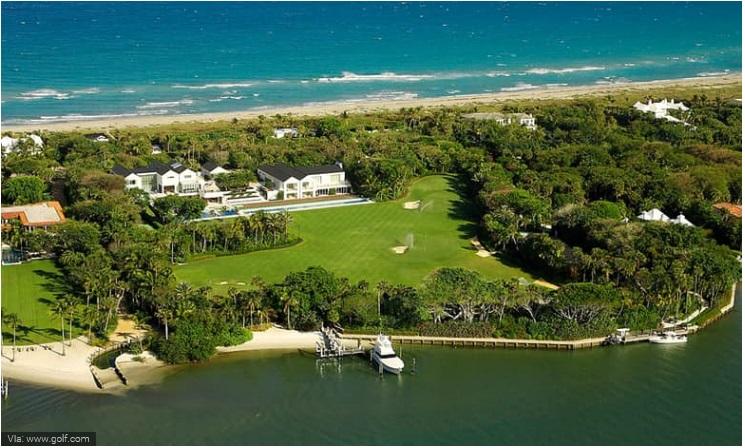 Tiger Woods- Jupiter Island Castle