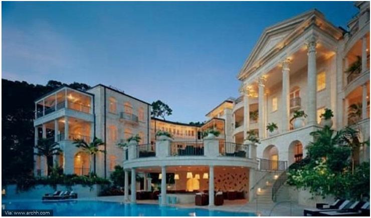 Rihanna- Barbados Villa