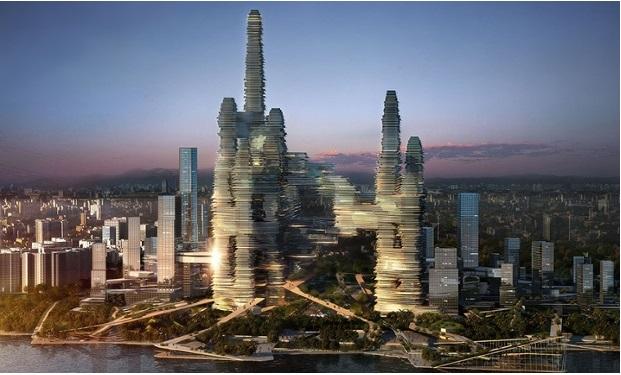 Китайская одержимость «вертикальными городами»