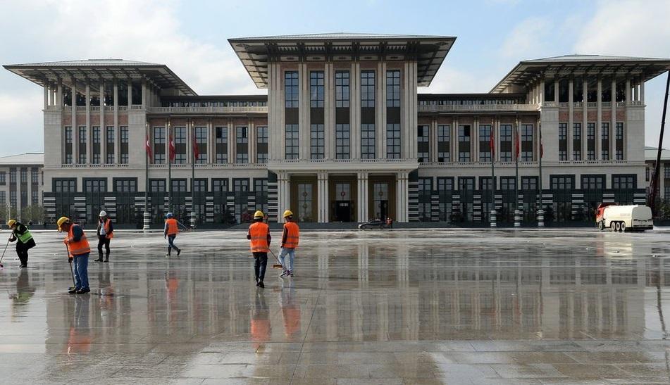 Новый дворец Президента Турции стоит $615 млн