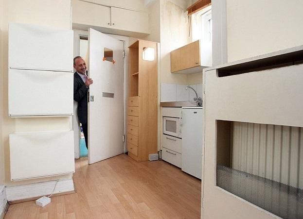 Самая миниатюрная квартира Лондона продается за £90 000_3