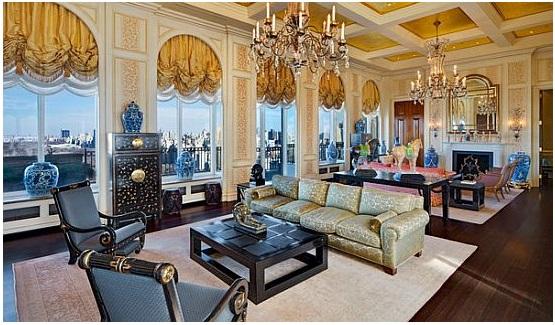 Нью-Йоркский пентхаус в здании Ritz Carlton продается за $77,5 млн