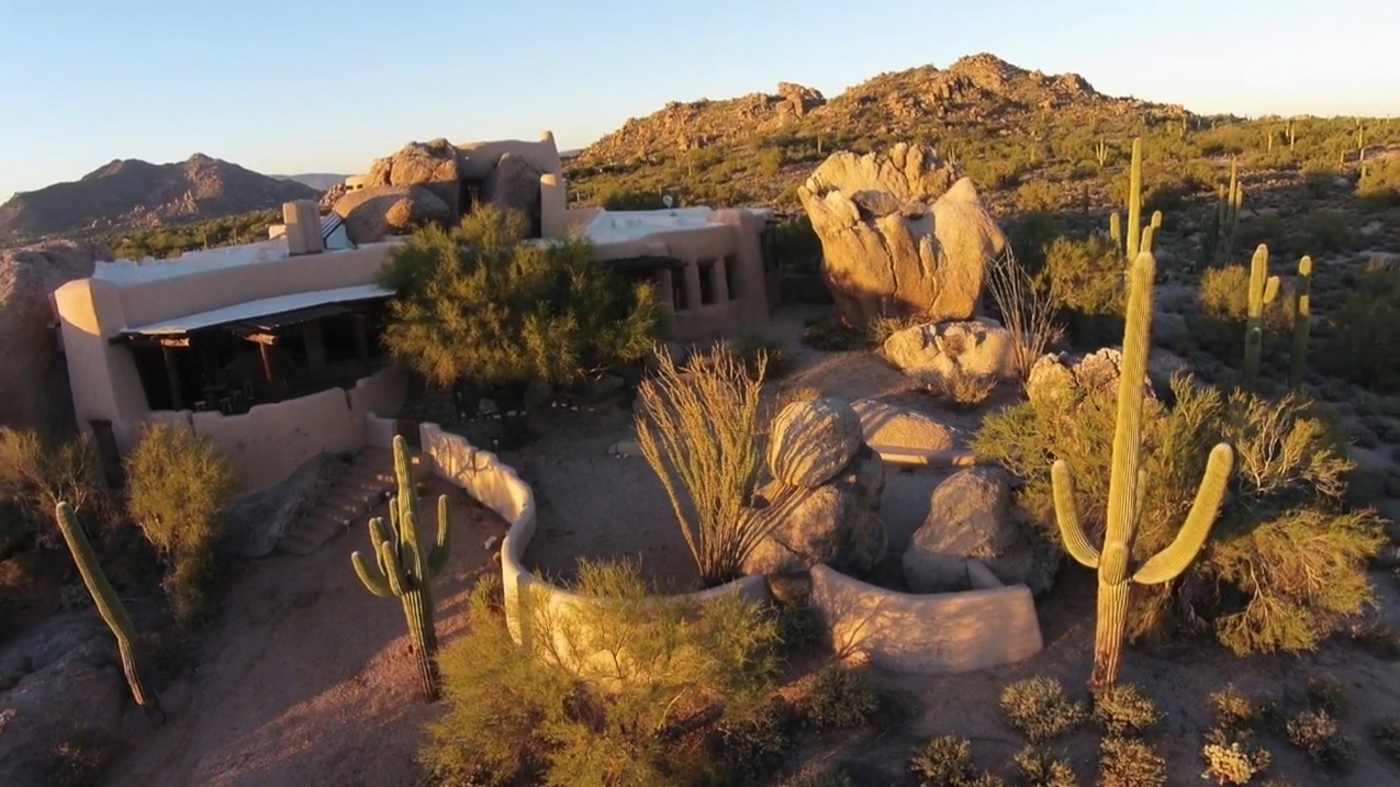 Boulder House in Scottsdale Rolls