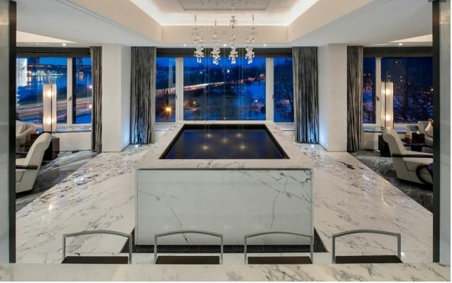 Saudi prince lists Manhattan apartment with bullet-proof panic rooms and aquarium for $48.5M