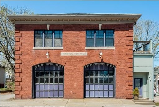 A Century-Old Firehouse Turned Contemporary Loft Home