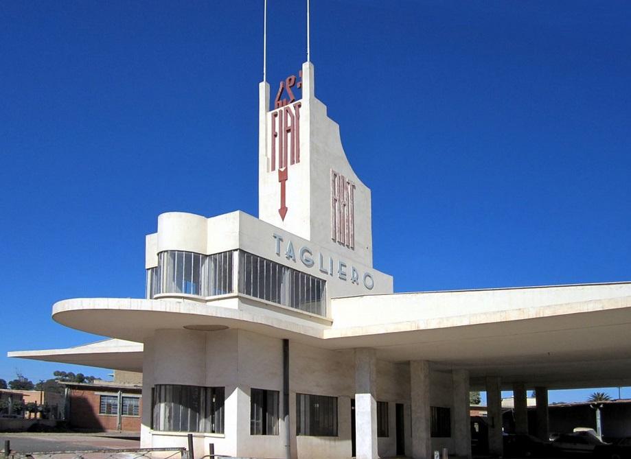 Fiat Tagliero Building, Asmara, 1938