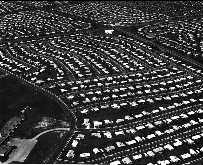 Levittown, New York, 1947-51