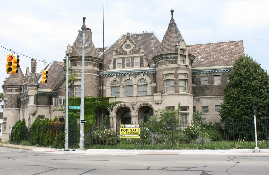 Yet Another Detroit Castle For Sale
