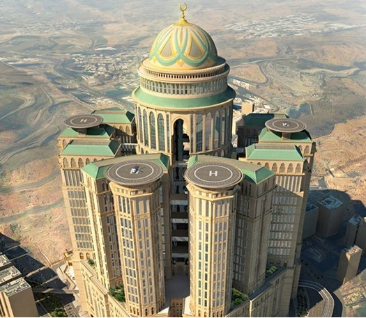 Mecca to Build the World's Largest Hotel