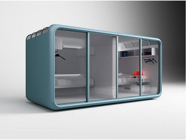 These Sleeping Pods Make it Easy to Live at Work