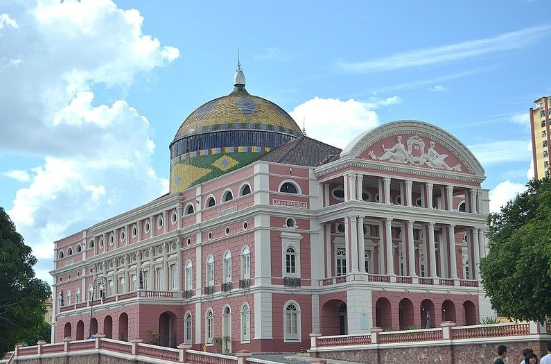 Amazon Theatre, Manaus, 1896