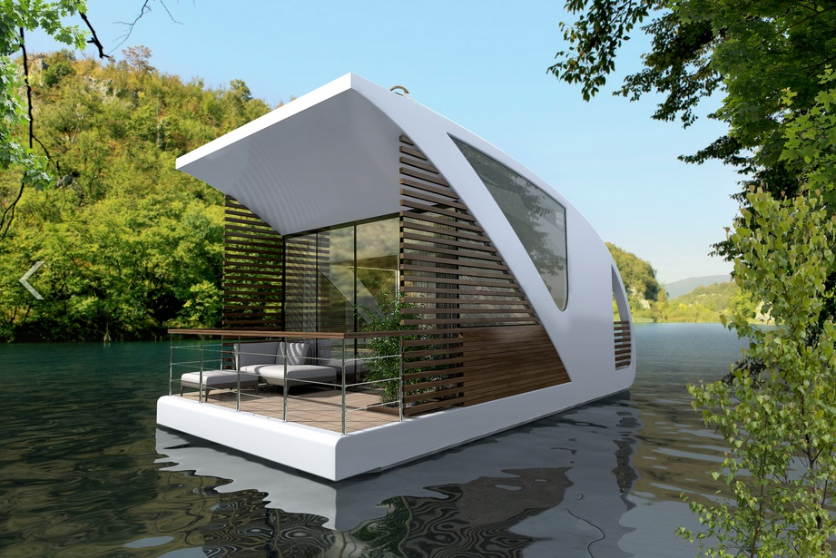 Salt & Water Design Floating Hotel with Catamaran-Apartments_2