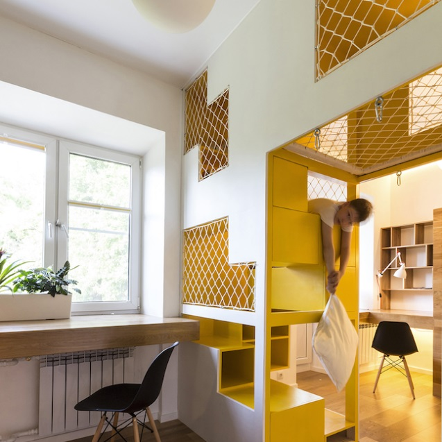 This Russian Apartment Has Its Own Indoor Playground