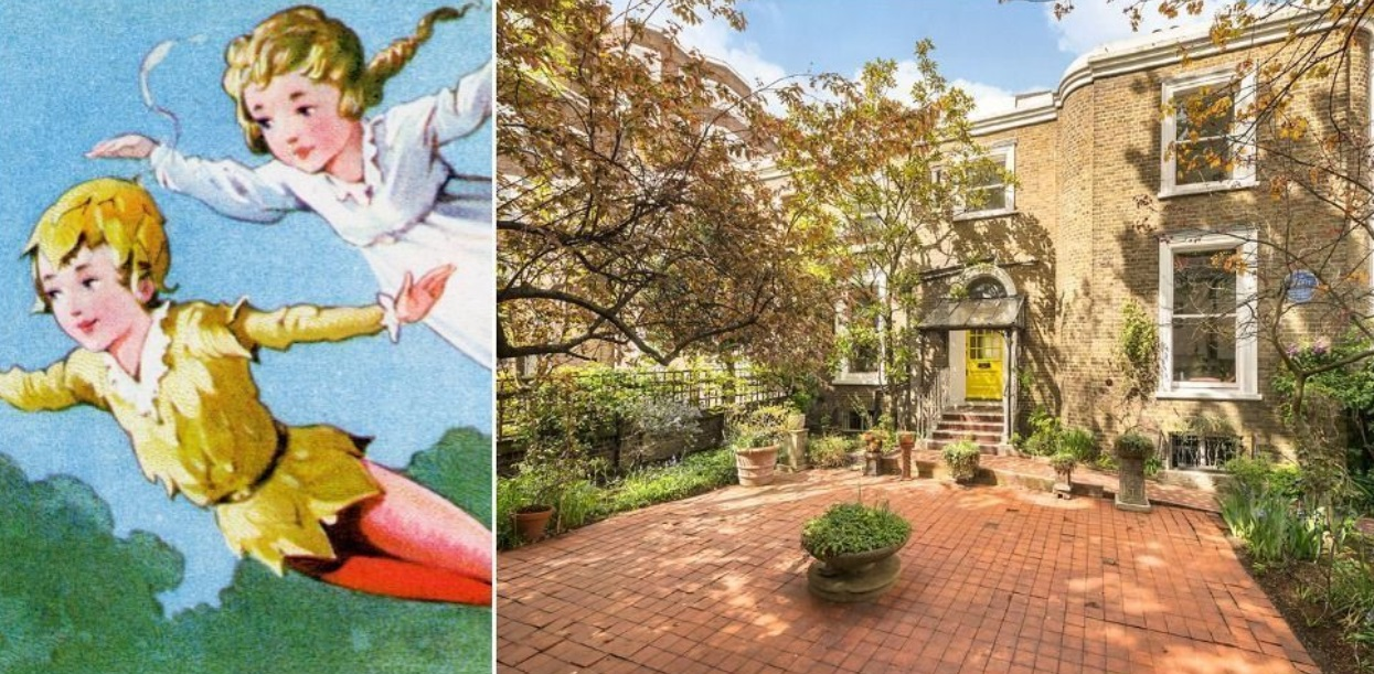 YOU CAN LIVE IN THE HOME THAT INSPIRED PETER PAN