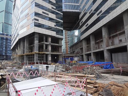 Объем строительства в России вырос