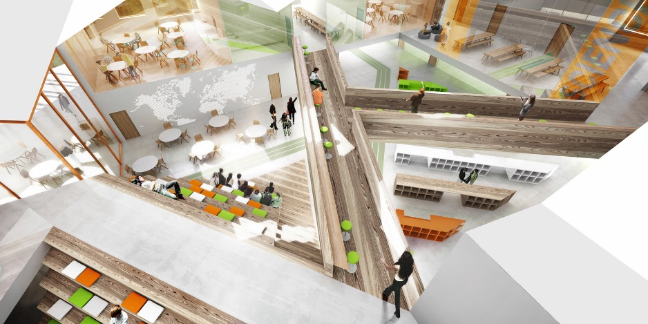CEBRA Wins Competition to Design Smart School in Russia_2