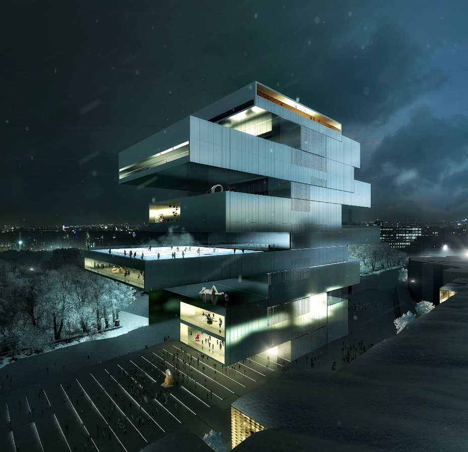 Heneghan Peng Architects Selected to Design Contemporary Arts Center in Moscow