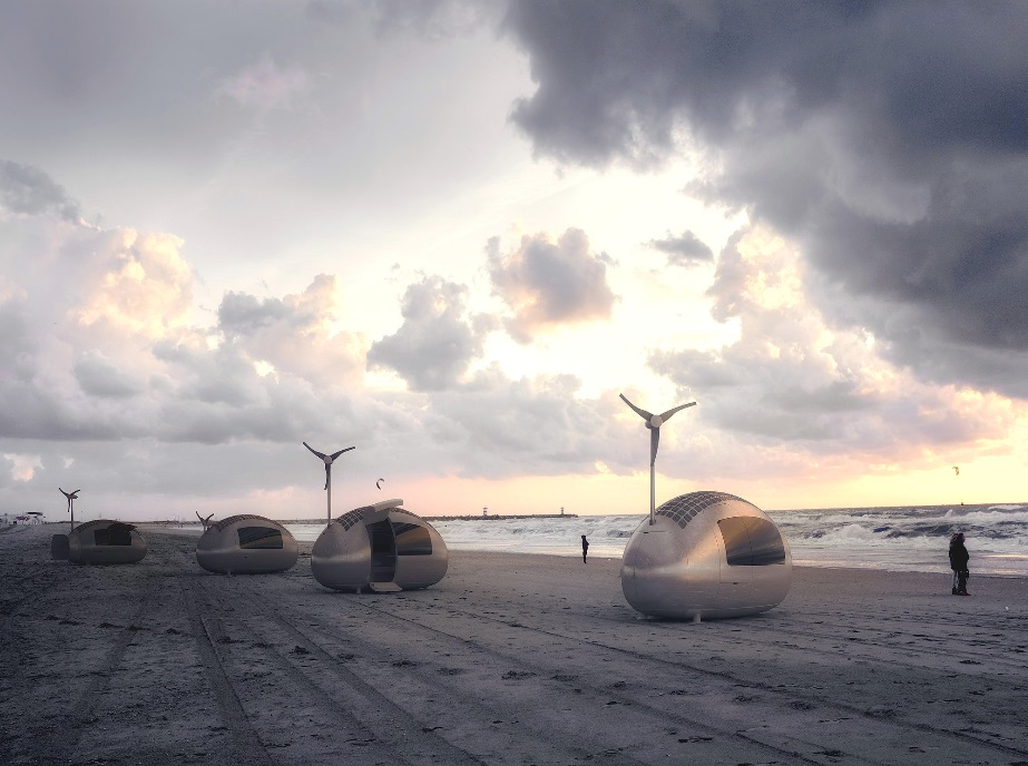 Live off the Grid in Nice Architects' Wind and Solar-Powered Ecocapsule_3