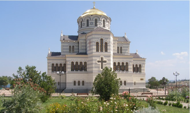 Moscow to Get Exact Replica of Crimean Cathedral