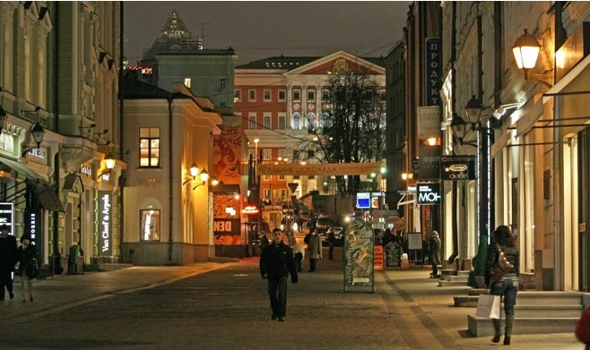 Moscow's Stoleshnikov Among World's Top 10 Most Expensive Streets
