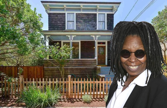 Whoopi Goldberg Lists Berkeley Victorian Home for $1.275M