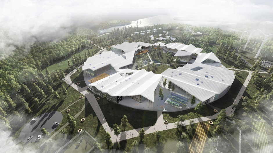 CEBRA Wins Competition to Design Smart School in Russia