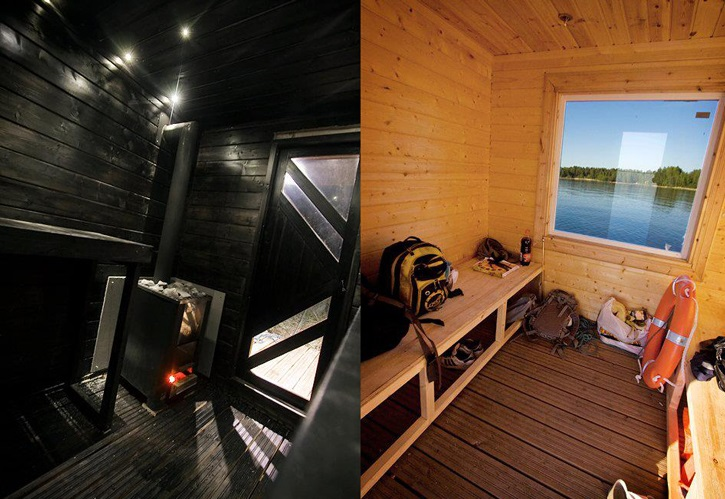 You Can Rent This Idyllic Finnish Floating Sauna-Cabin_2