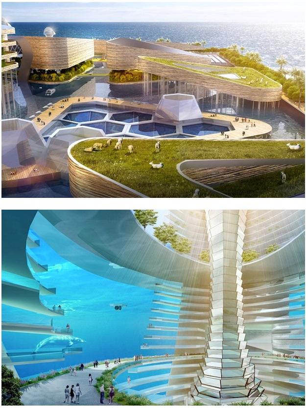 Floating ocean metropolis proposed