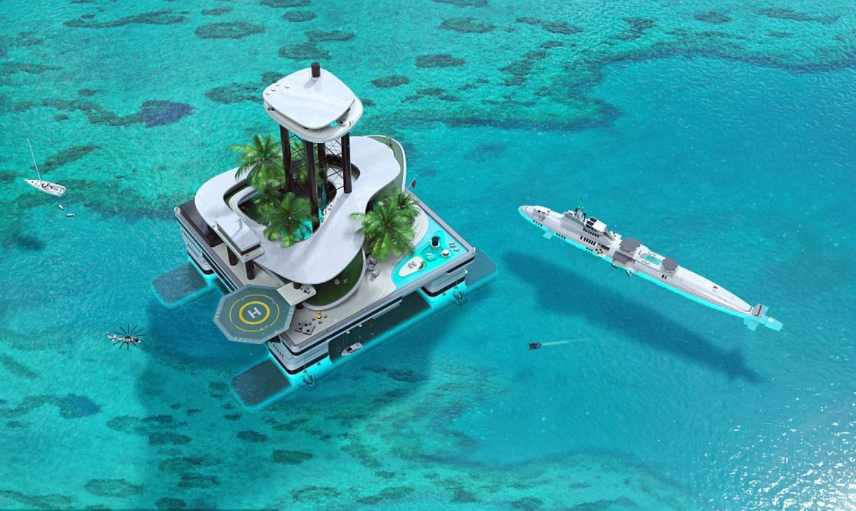 Forget the mega yacht