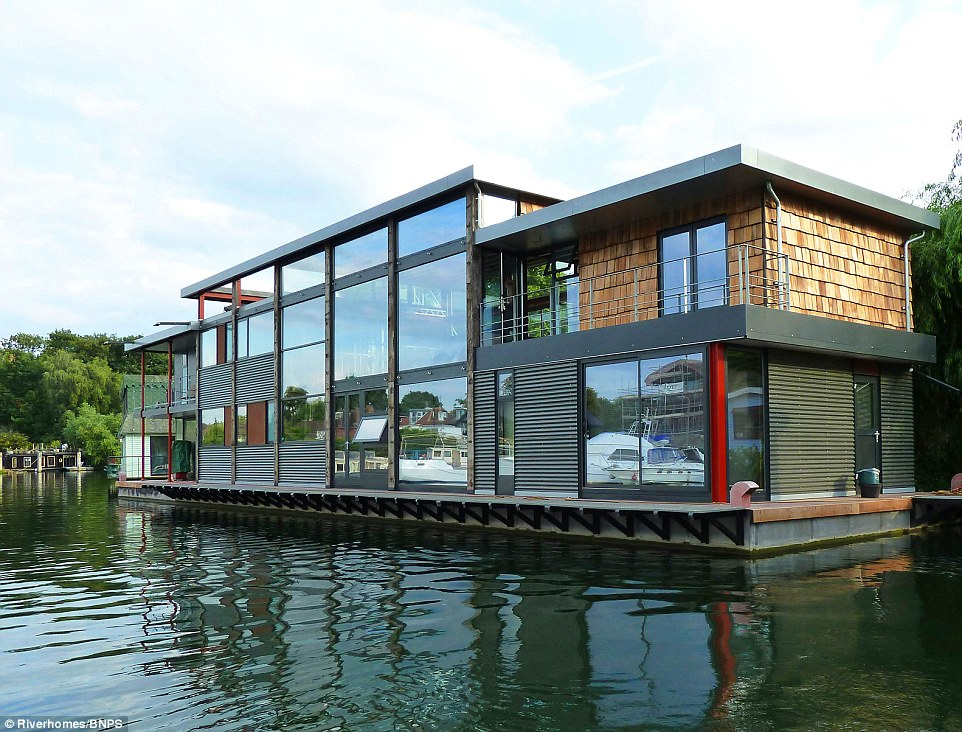 Luxury houseboat like no other goes on sale for £1.85million