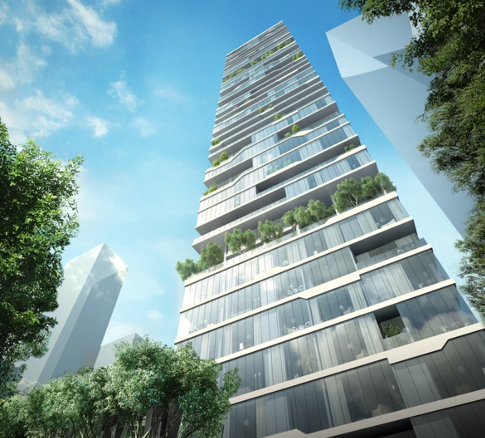 PARALX Designs New Residential Tower in Beirut_3