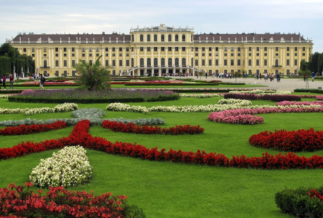 Шенбрунн Австрия Вена