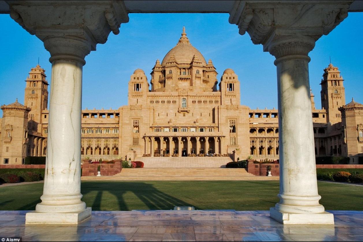 Дворец королевской семьи Джодхпур