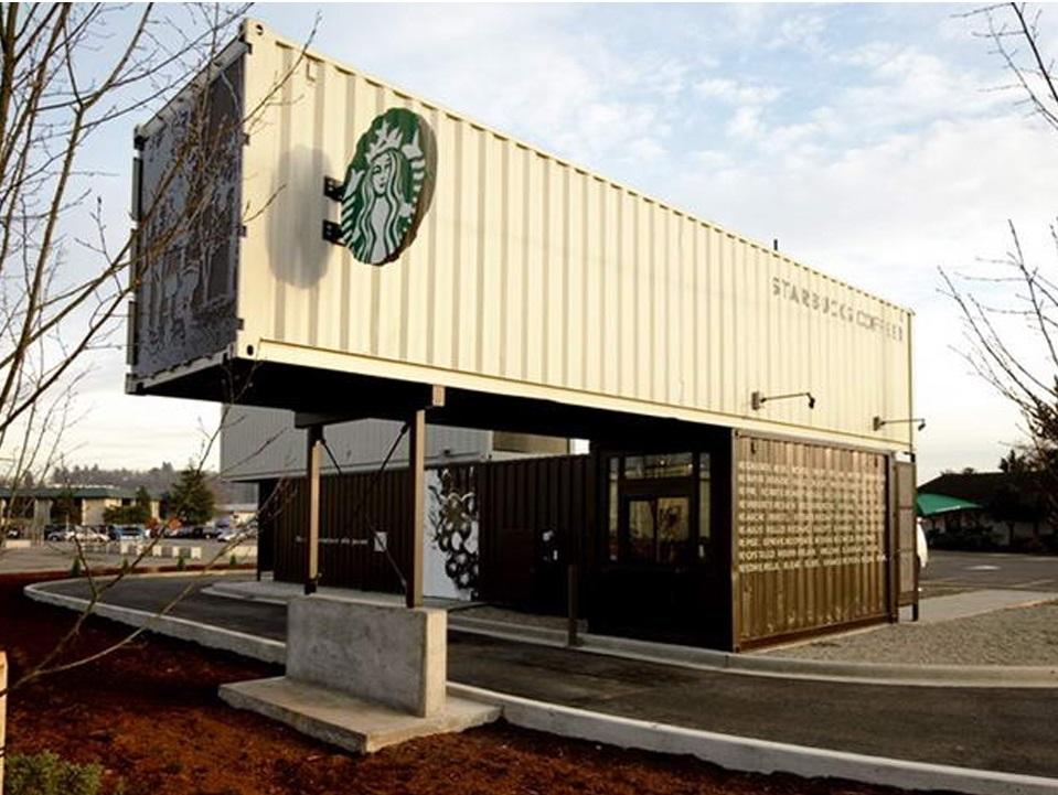 новое кафе Starbucks в городе Нортгленн, штат Колорадо