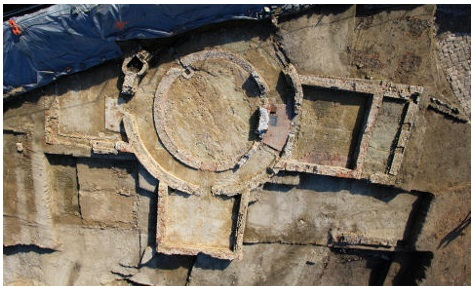 16th century castle unearthed in heart of Lille city centre