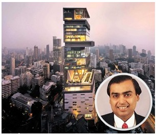 Antilla – Mumbai, India ($2 Billion)