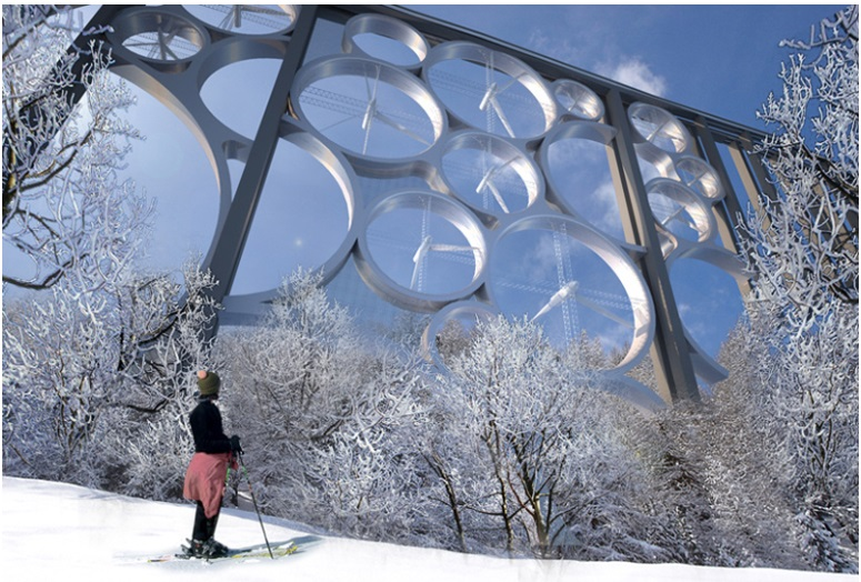 A futuristic concept to turn viaducts into electricity generators_3