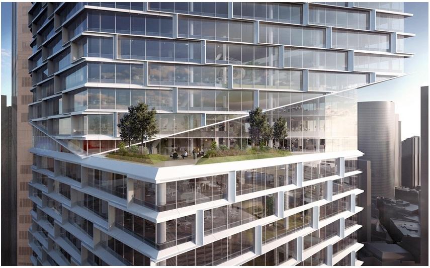 В Сиднее появится 49-этажный небоскреб в форме смещенных параллелепипедов_3