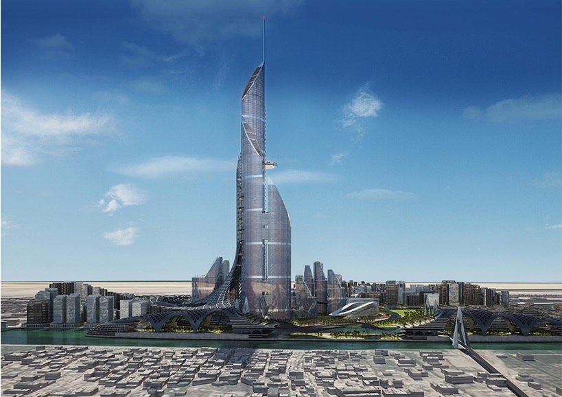AMBS architects unveils a vertical city for basra, iraq