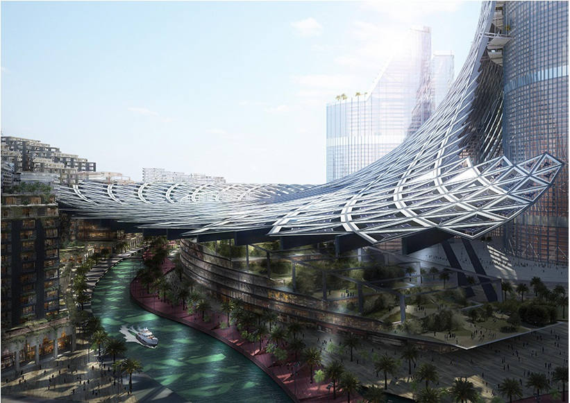 AMBS architects unveils a vertical city for basra, iraq_4