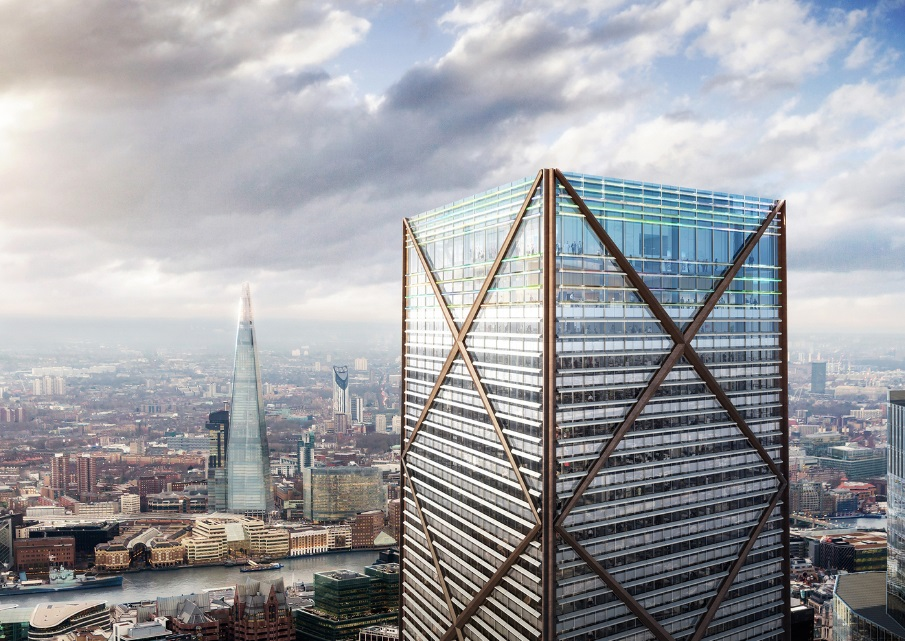 Eric Parry Architects Unveil 73-Storey Tower for London's Financial District