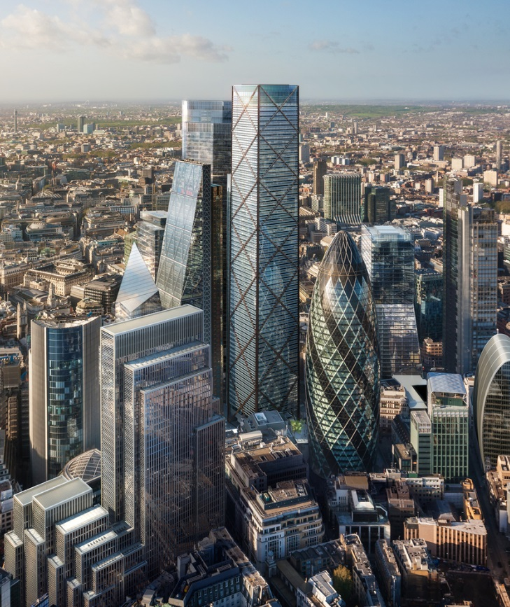 Eric Parry Architects Unveil 73-Storey Tower for London's Financial District_2