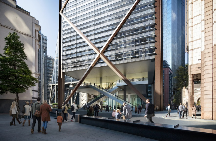 Eric Parry Architects Unveil 73-Storey Tower for London's Financial District_3