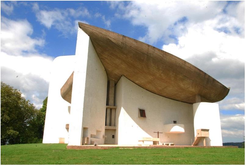 Le Corbusier's Chapelle La Notre Dame du Haut