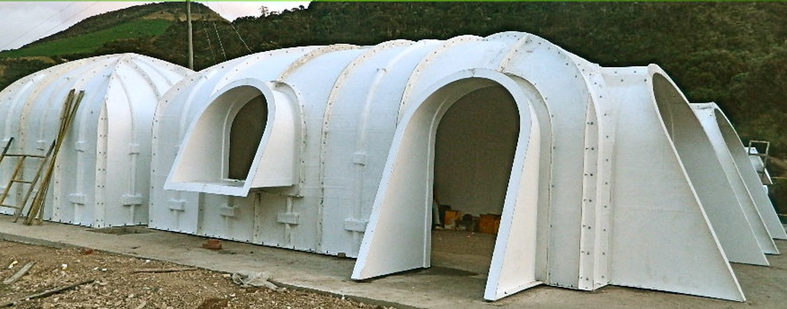 Modular Hobbit House Can Be Buried in Your Back Yard