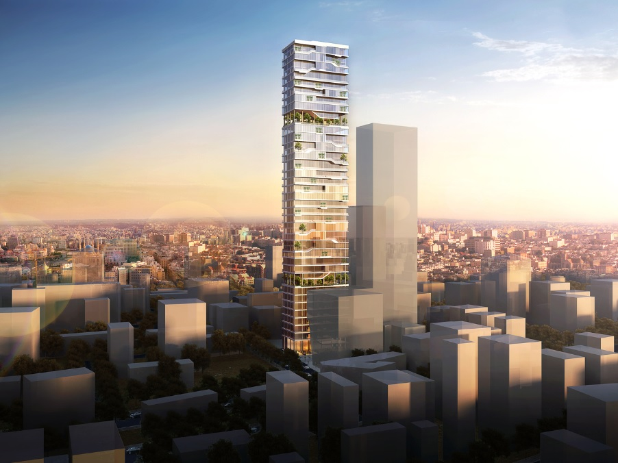 PARALX Designs New Residential Tower in Beirut