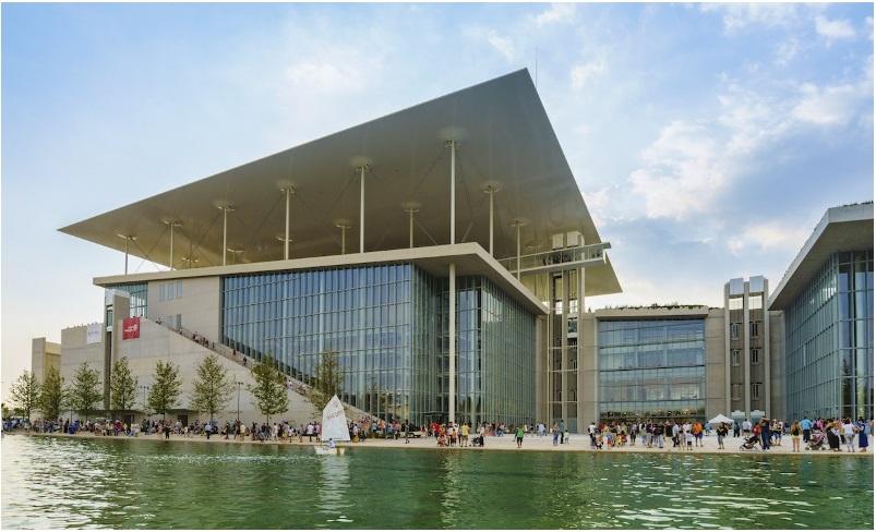 Renzo Piano's Stavros Niarchos Foundation Cultural Centre